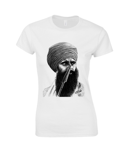 Bhindranwale SoftStyle® Fitted Ringspun T-Shirt for Women