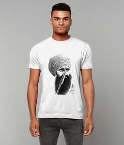Bhindranwale - Heavy Cotton T-Shirt (Men)