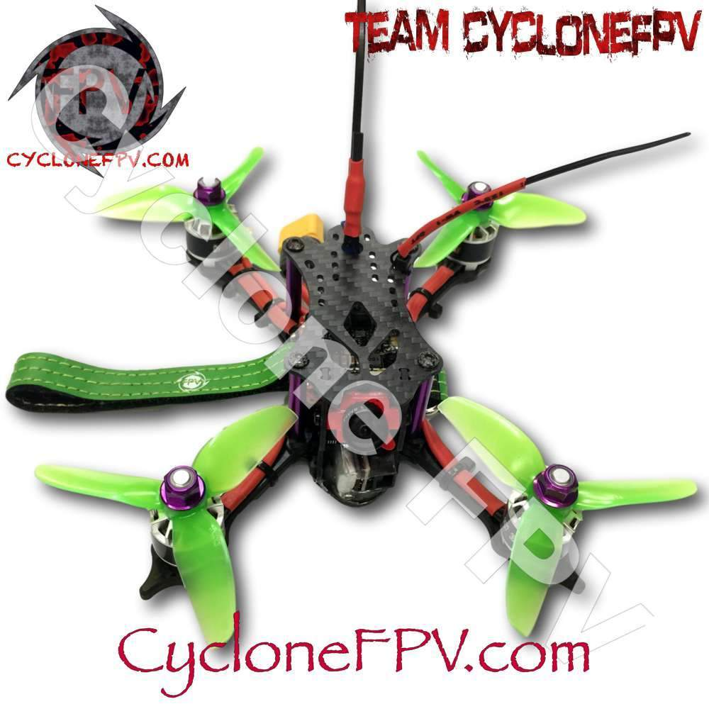 "Cyclone FPV DT140 3"" DIY Drone Kit with YouTube Instructions"