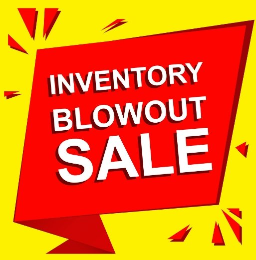 Sales - Inventory Blowout Sale from Cyclone FPV