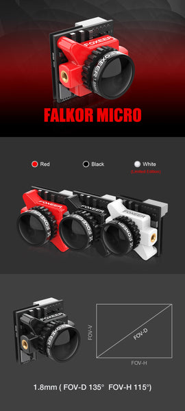 Cyclone FPV Foxeer Falcor Micro FPV Cam for CycloneFPV Drones