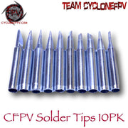 10 Piece 900M Soldering Tips - Cyclone FPV