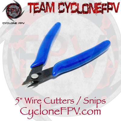 5 Inch Wire Cutters Wire Snips - Cyclone FPV