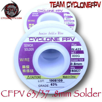 63/37 .031in .8mm Leaded Solder - Cyclone FPV