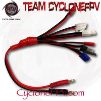 8 in 1 LiPo RC Multi Charger Plug in Charging Cable - Cyclone FPV