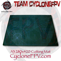 A3 Heavy Duty Self Healing Cutting Mat 280x420mm 7 Colors - Cyclone FPV