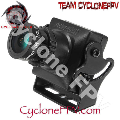 AOMWAY 650TVL 1/3 Sony CCD 2.8mm FPV Camera - Cyclone FPV