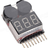 Battery Voltage Meter Tester Battery Monitor Buzzer Alarm - Cyclone FPV