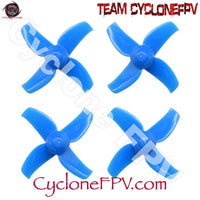 BetaFPV 40mm 4-blade Micro Whoop Propellers (1.0mm Shaft) - Cyclone FPV