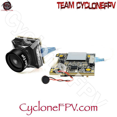 Caddx Turtle V2 1080p 60fps Mini HD FPV Camera w/ DVR - Red Black - Cyclone FPV