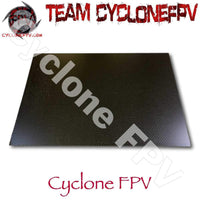 Carbon Fiber Plate Sheets 1mm 2mm 3mm 4mm 5mm - Cyclone FPV