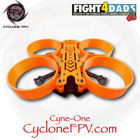 Cyclone FPV Cyne-One Carbon Fiber 3D Printed Parts and Mounting Hardware Only - Cyclone FPV