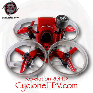 Cyclone FPV Revelation-85HD Frame and Drone DIY / RTF / BNF / PNP