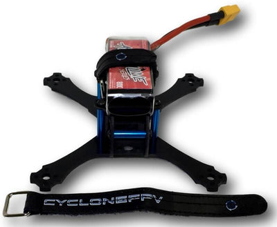 CycloneFPV Lipo-Straps / Camera Straps (15mmx150mm) - Black - Cyclone FPV