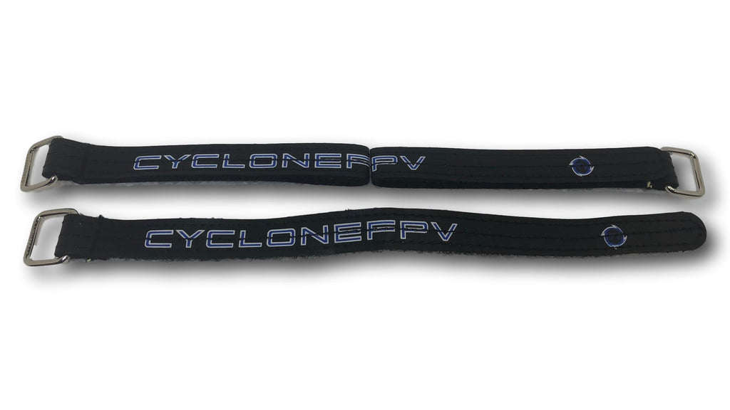 CycloneFPV Lipo-Straps / Camera Straps (15mmx250mm) - Black - Cyclone FPV
