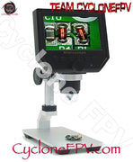 Digital Microscope 4.3inch LCD Display with Aluminum Stand - Cyclone FPV
