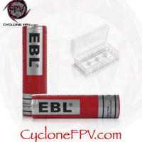 EBL 18650 Battery 3000mAh 3.7v Lithium-ion Rechargeable Batteries - Cyclone FPV