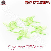 EMAX Avan Tinyhawk Turtle Mode 4-blade 40mm Whoop Prop 4 Colors - Cyclone FPV