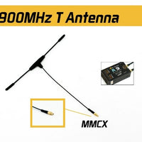 FrSky 900MHz MMCX Dipole T Antenna for R9 Receiver - Cyclone FPV