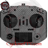 FrSky QX7 Radio Shell Carbon Fiber Black White - Cyclone FPV