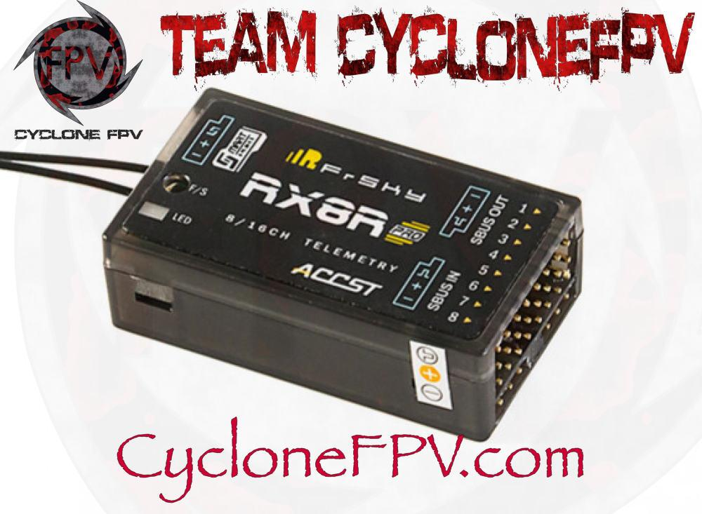 FrSky RX8R Pro Full Duplex Telemetry Receiver - Cyclone FPV