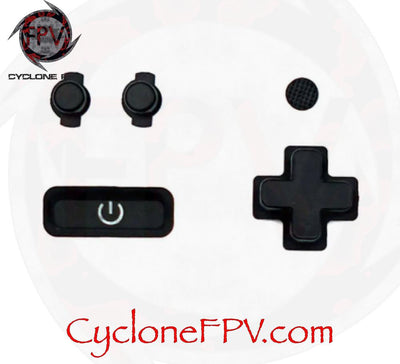 FrSky X-Lite Pro Front Button Function Set - Cyclone FPV