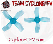 Gemfan 1220 1inch .8mm and 1mm 0703 - 1103 Motor Props - Cyclone FPV