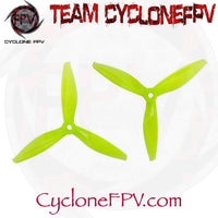 Gemfan Flash 5144 Tri-Blade Propellers 5 Colors - Cyclone FPV
