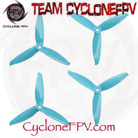 Gemfan Flash 5152S V2 5 Inch 3-Blade Durable Prop 6 Colors - Cyclone FPV