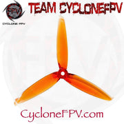 Gemfan Flash 6042 6 Inch Durable 3 Blade Props 5 Colors - Cyclone FPV