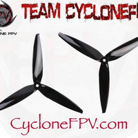 Gemfan Flash 7040 7 Inch Durable 3-Blade Prop 4 Colors - Cyclone FPV
