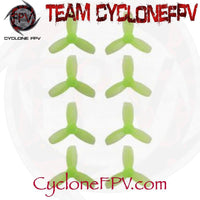 Gemfan Hulkie Blue 1940 3 Blade Props 5 Colors - Cyclone FPV