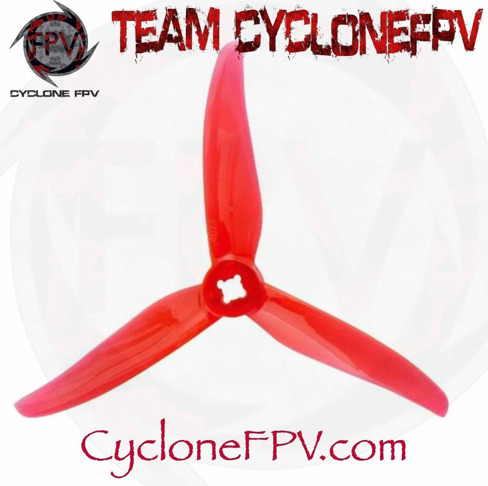Gemfan Hurricane 4023 2 Blade 4inch Props 4 Colors - Cyclone FPV