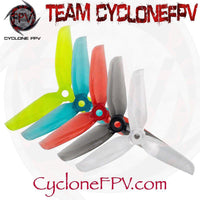 Gemfan WinDancer 4032 4 Inch Durable 3 Blade Prop 5 Colors - Cyclone FPV