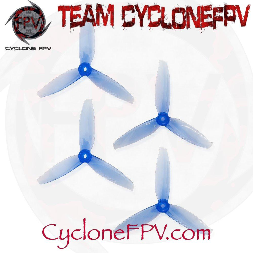 Gemfan WinDancer 5042 5 Inch Durable 3 Blade Prop 5 Colors - Cyclone FPV