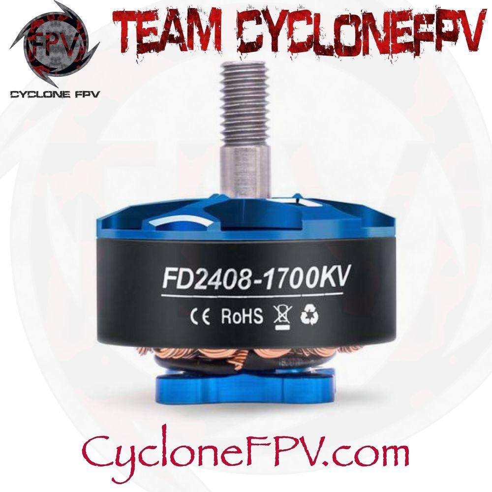 HGLRC Forward 2408 1700KV 2500KV Drone Motors - Cyclone FPV
