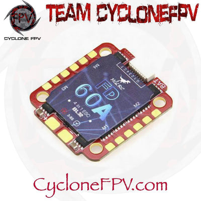 HGLRC Forward 60A 3-6S BLHeli32 4in1 ESC - Cyclone FPV