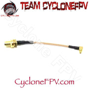 HGLRC MMCX to SMA 90 Degree 80mm VTX Antenna Adapter - Cyclone FPV