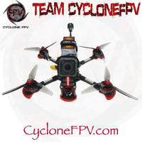 HGLRC Sector5 V3 4S 6S FreeStyle FPV Racing Drone DJI HD Edition - Cyclone FPV