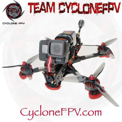 HGLRC Sector5 V3 FreeStyle FPV Racing Drone Ratel Edition - Cyclone FPV