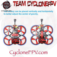 HGLRC Veyron 3 Cinewhoop Drone with Caddx Ratel 4S 6S Blue - Cyclone FPV