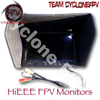 HiEEE 7 inch FPV Monitor with Dip Switch - Cyclone FPV