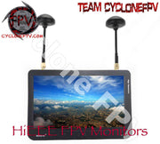 HiEEE 7 inch FPV Monitor with DVR - Cyclone FPV