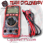 High Precision Manual Digital Ammeter Table AC and DC Multimeter - Cyclone FPV