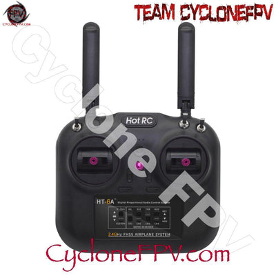 HOTRC HT-6A Transmitter with SBus Receiver - Cyclone FPV