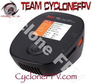 ISDT T6 Lite 25A Smart Drone Battery Balancer and Charger - Cyclone FPV