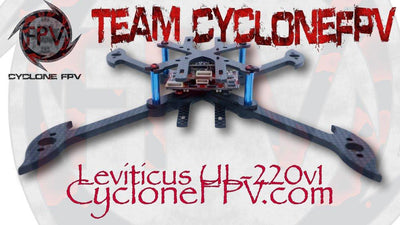 Leviticus UL-220v1 Ultra Light Drone Racing Frame - Cyclone FPV