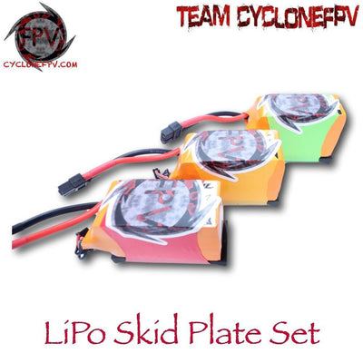 LiPo Skid Plate Set from Cyclone FPV - Cyclone FPV