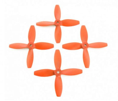 Lumenier FPV Racing Props 4040 4-Blade Orange (CW/CCW) (2 Pairs) - Cyclone FPV