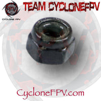 M2 and M3 Threaded Locknuts Steel Black 10 Count - Cyclone FPV